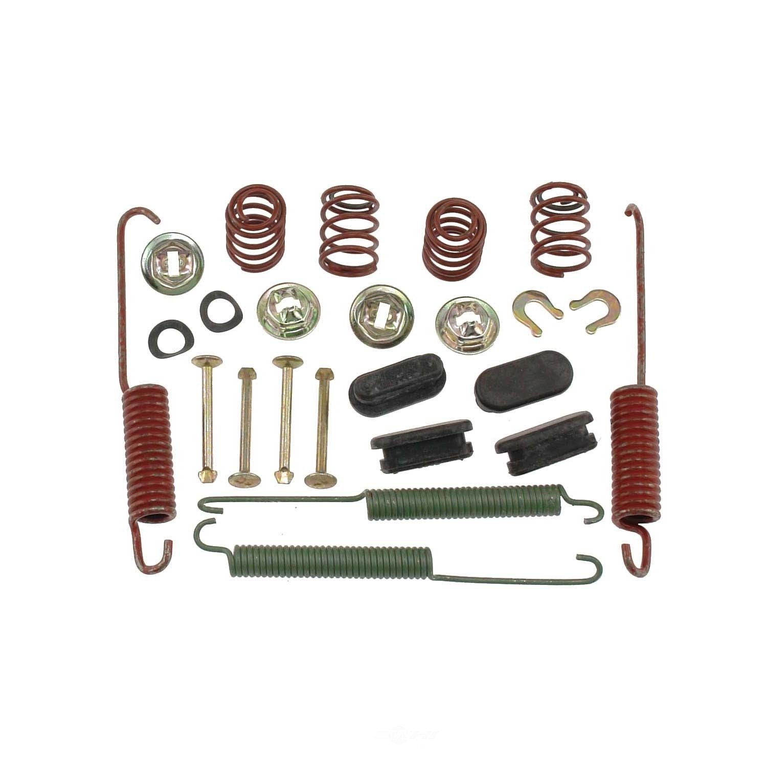 CARLSON QUALITY BRAKE PARTS - Drum Brake Hardware Kit (Rear) - CRL H7252