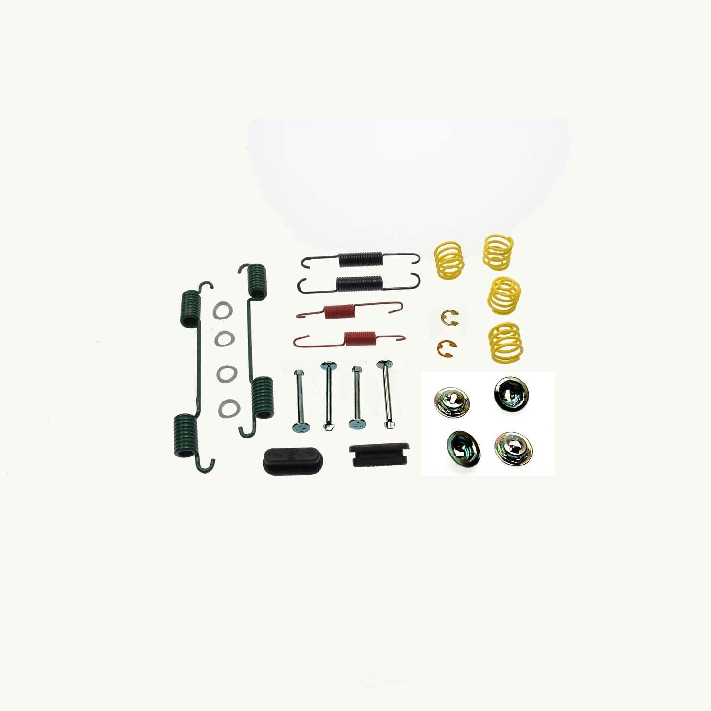 CARLSON QUALITY BRAKE PARTS - Drum Brake Hardware Kit (Rear) - CRL H7264