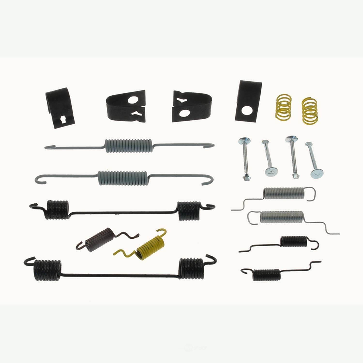 CARLSON QUALITY BRAKE PARTS - Drum Brake Hardware Kit (Rear) - CRL H7290