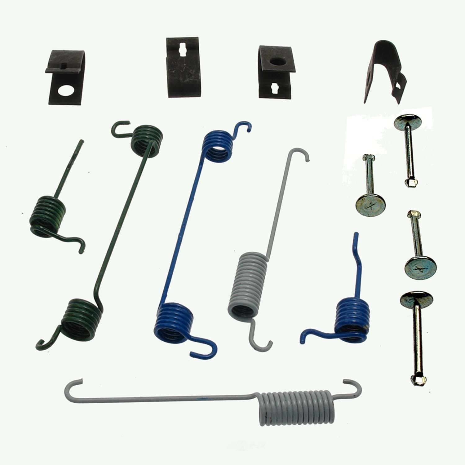 CARLSON QUALITY BRAKE PARTS - Drum Brake Hardware Kit (Rear) - CRL H7293