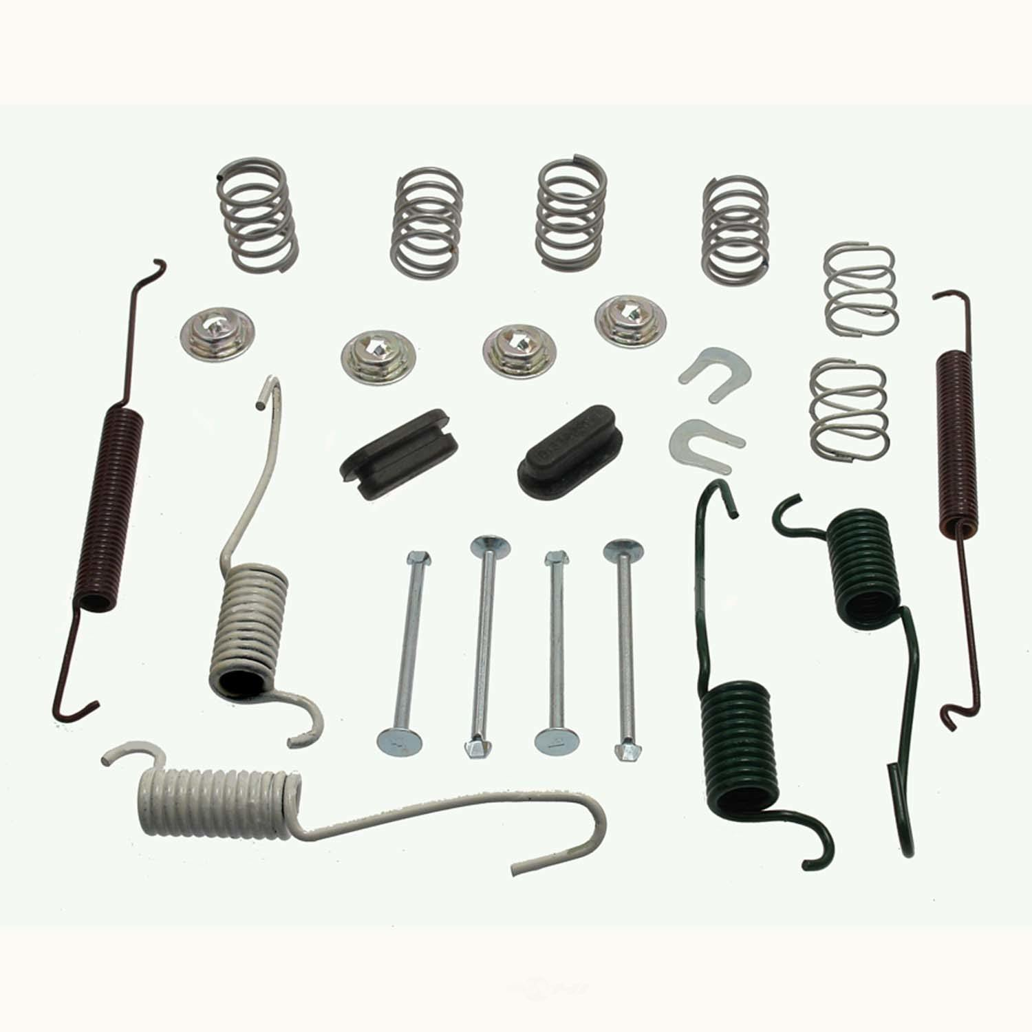 CARLSON QUALITY BRAKE PARTS - All In One Drum Brake Hardware Kit (Rear) - CRL H7294