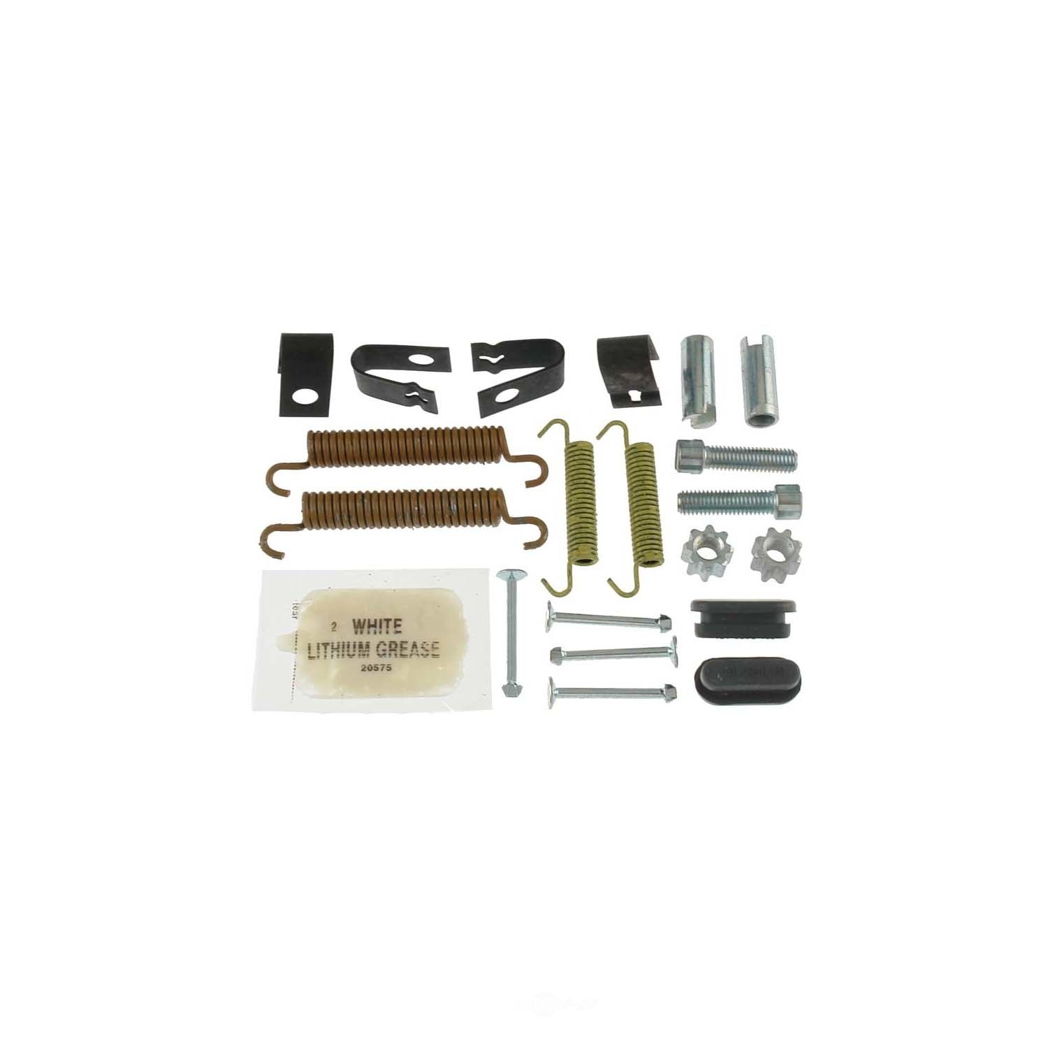 CARLSON QUALITY BRAKE PARTS - Parking Brake Hardware Kit (Rear) - CRL H7300