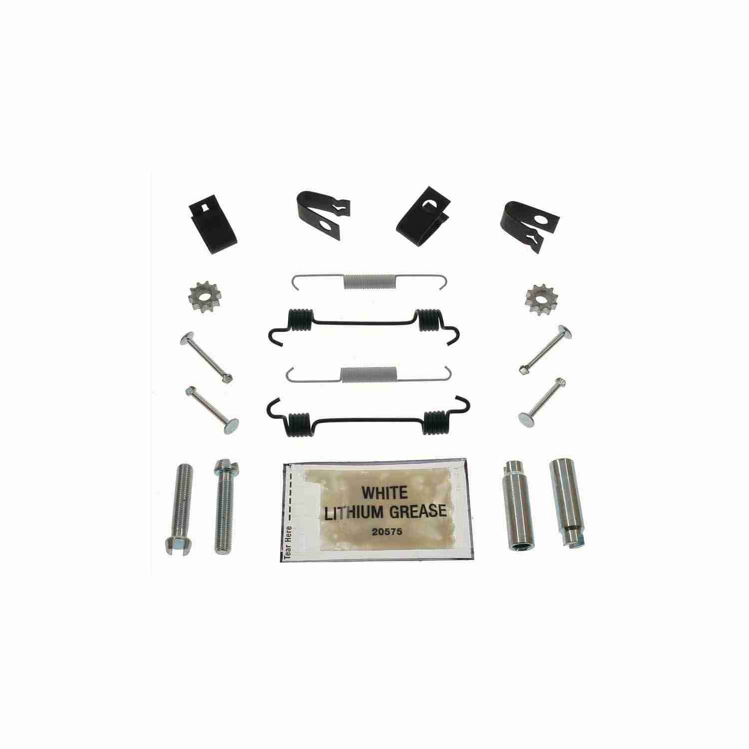 CARLSON QUALITY BRAKE PARTS - Parking Brake Hardware Kit (Rear) - CRL H7302