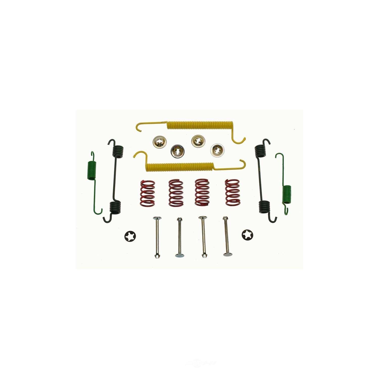 CARLSON QUALITY BRAKE PARTS - Drum Brake Hardware Kit (Rear) - CRL H7305