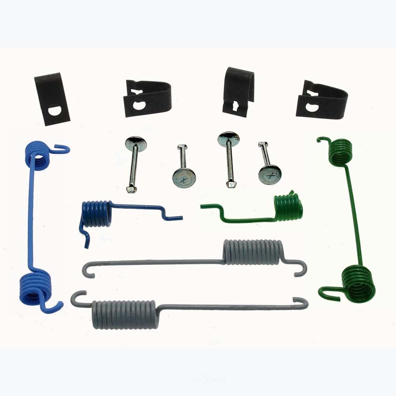 CARLSON QUALITY BRAKE PARTS - Drum Brake Hardware Kit (Rear) - CRL H7307