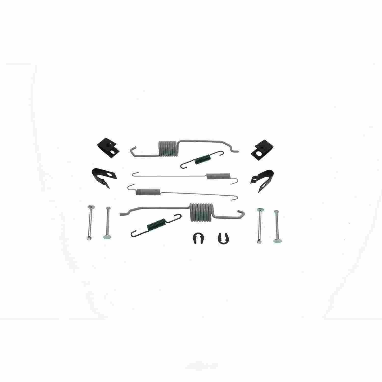 CARLSON QUALITY BRAKE PARTS - Drum Brake Hardware Kit (Rear) - CRL H7310