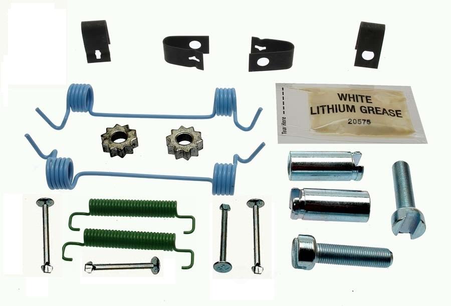 CARLSON QUALITY BRAKE PARTS - Parking Brake Hardware Kit (Rear) - CRL H7311