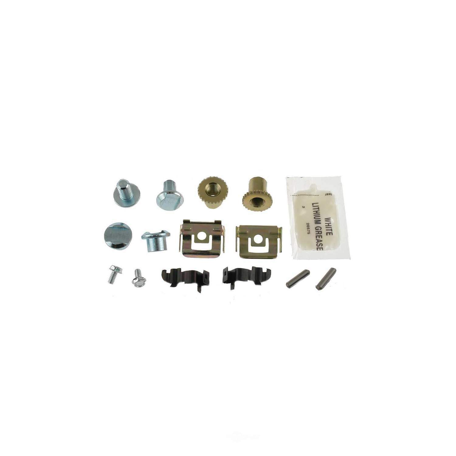 CARLSON QUALITY BRAKE PARTS - Parking Brake Hardware Kit (Rear) - CRL H7321