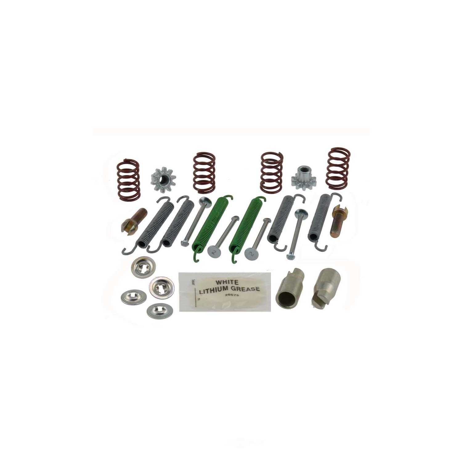 CARLSON QUALITY BRAKE PARTS - Parking Brake Hardware Kit (Rear) - CRL H7336