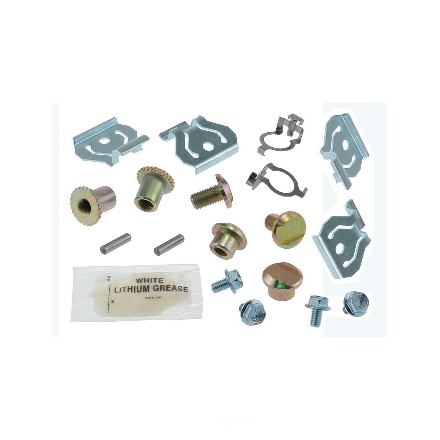 CARLSON QUALITY BRAKE PARTS - Parking Brake Hardware Kit (Rear) - CRL H7344