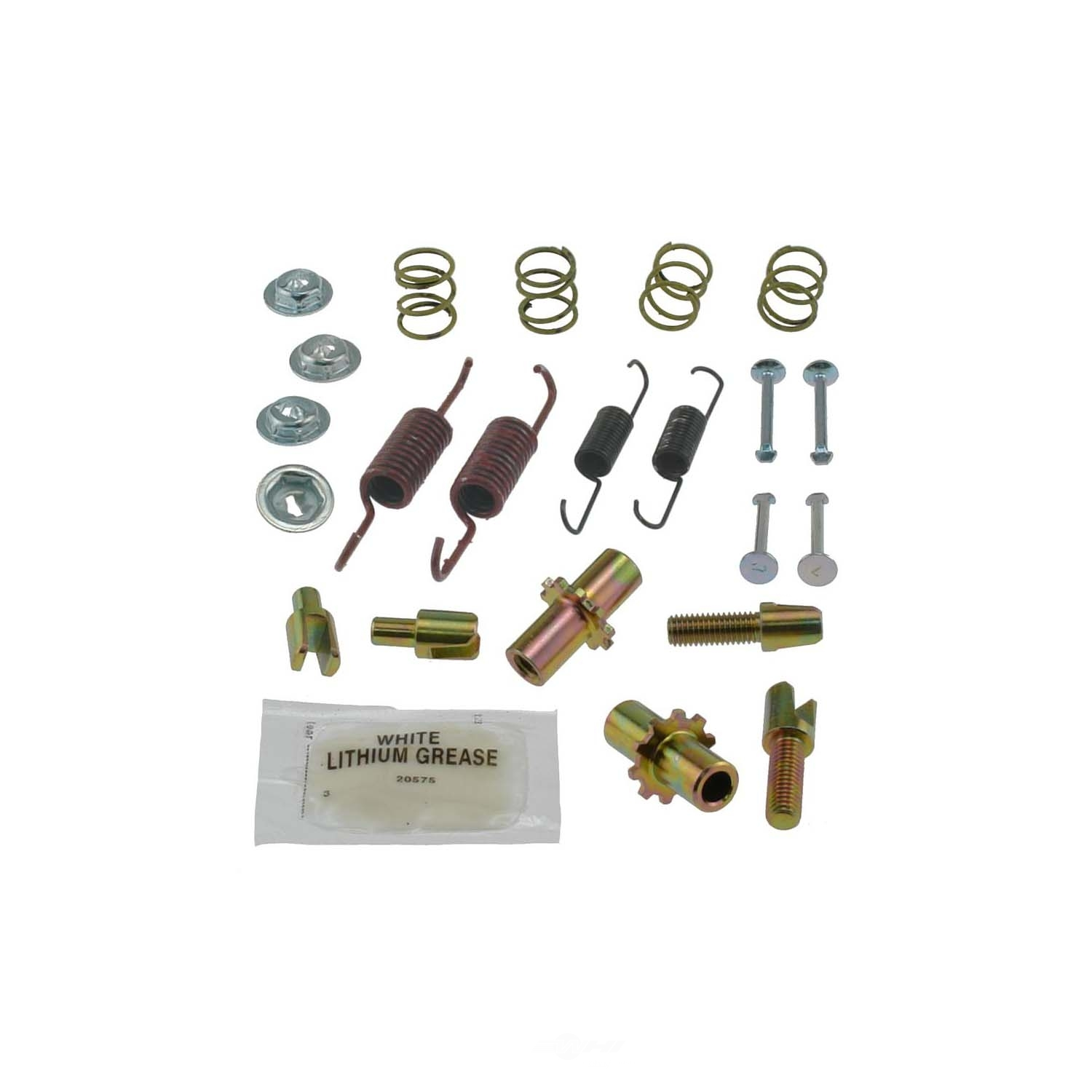 CARLSON QUALITY BRAKE PARTS - Parking Brake Hardware Kit (Rear) - CRL H7346