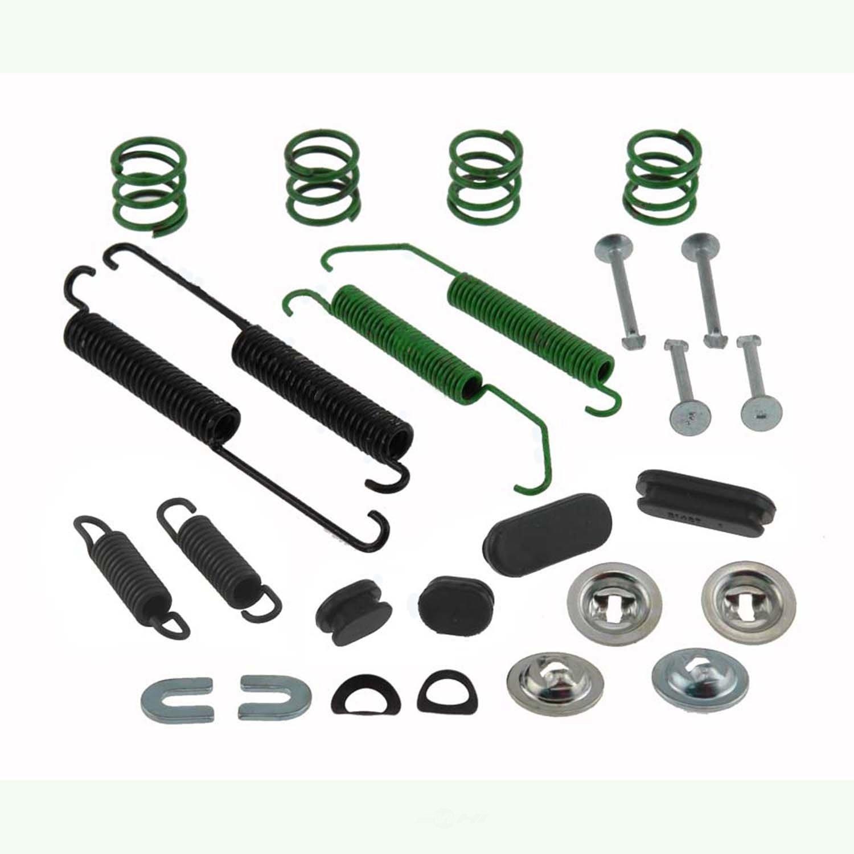 CARLSON QUALITY BRAKE PARTS - Drum Brake Hardware Kit (Rear) - CRL H7351