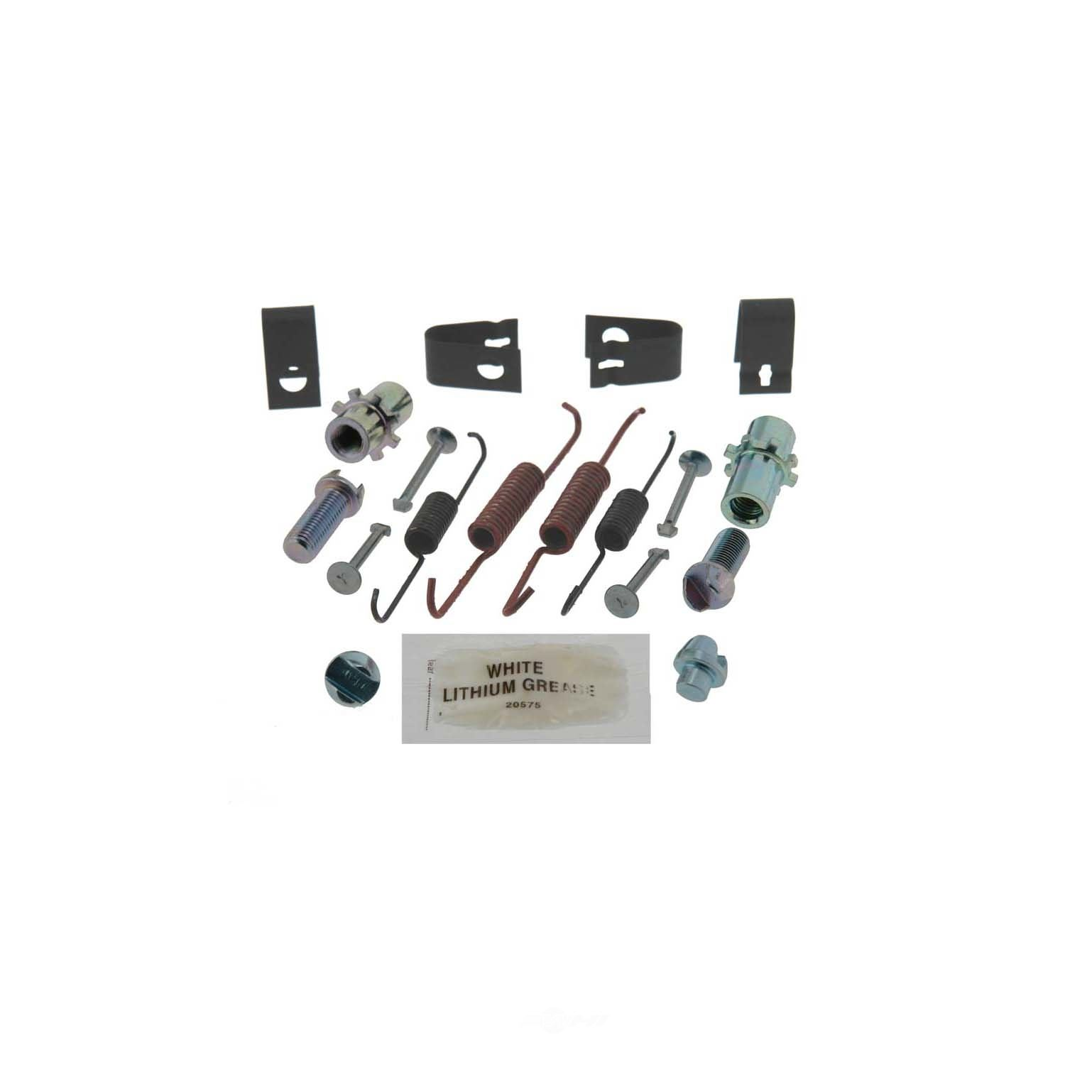 CARLSON QUALITY BRAKE PARTS - Parking Brake Hardware Kit (Rear) - CRL H7354