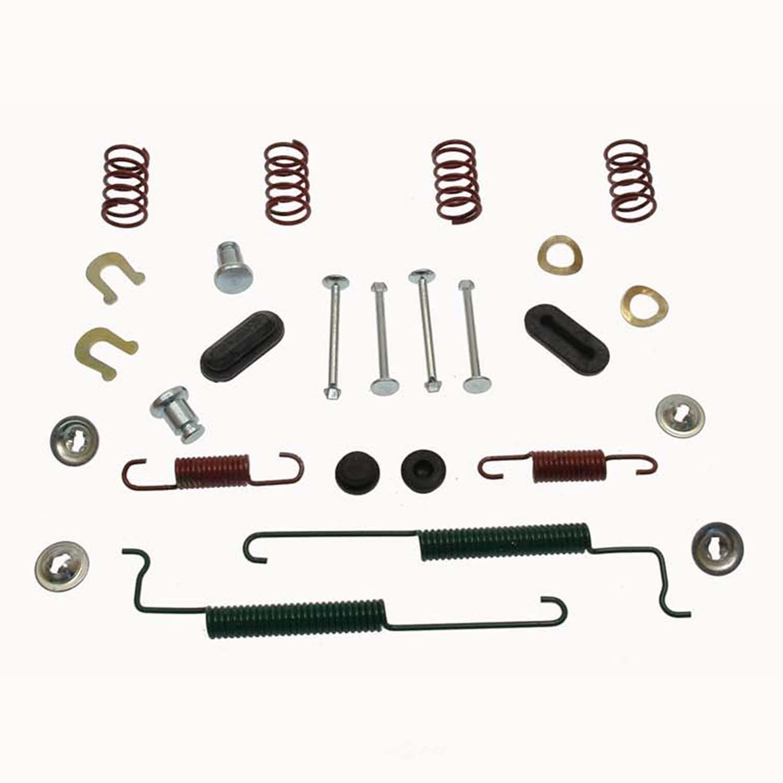 CARLSON QUALITY BRAKE PARTS - Drum Brake Hardware Kit (Rear) - CRL H7372