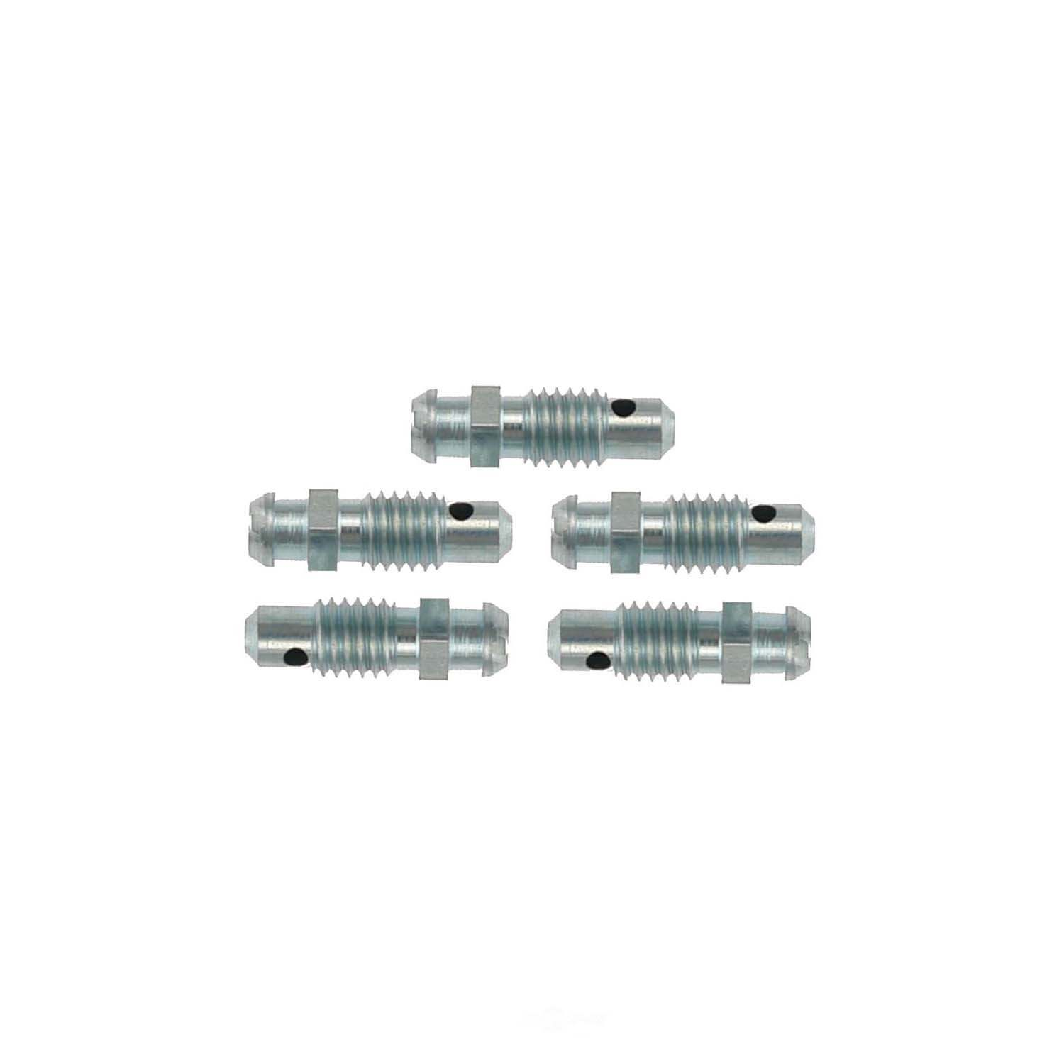 CARLSON QUALITY BRAKE PARTS - Brake Bleeder Screw (Rear) - CRL H9405