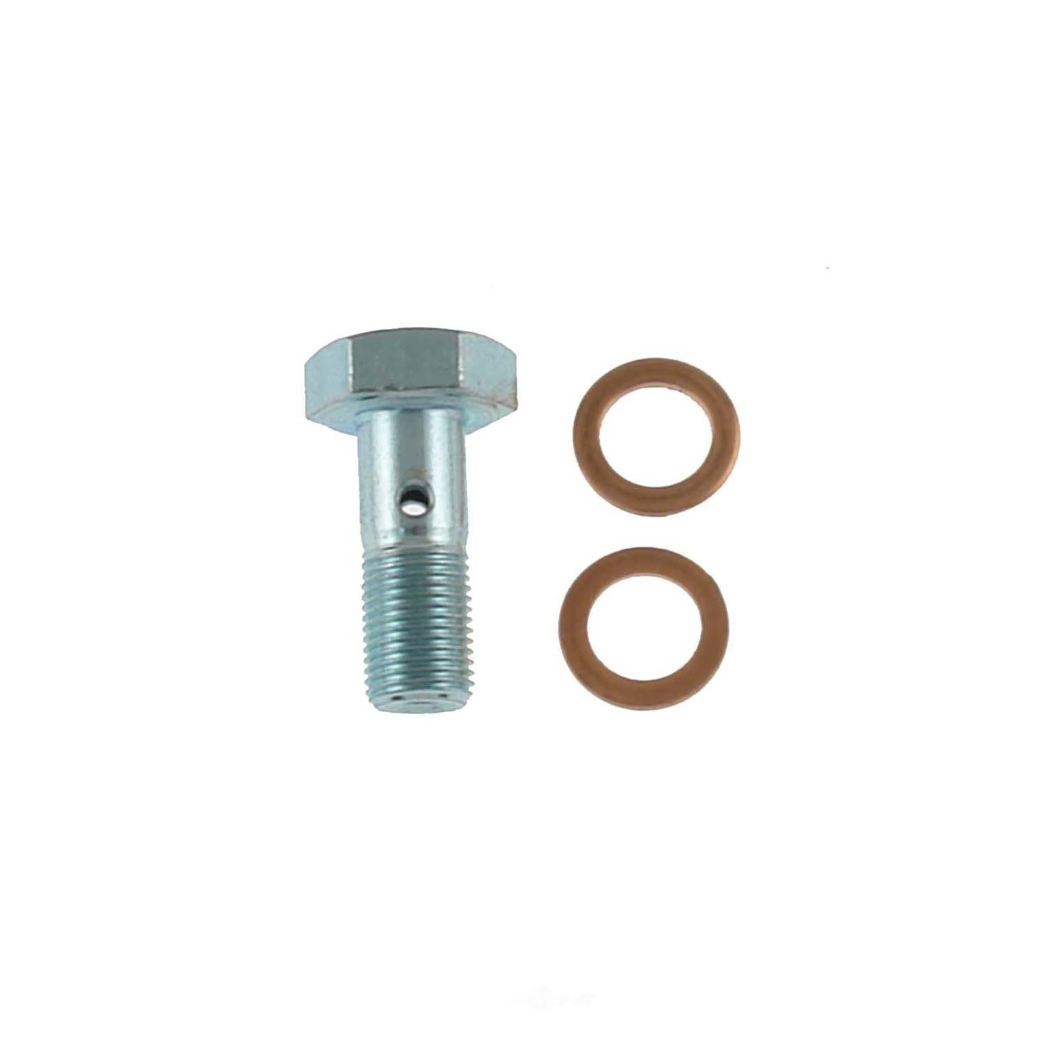 CARLSON QUALITY BRAKE PARTS - Brake Hydraulic Banjo Bolt - CRL H9487-2