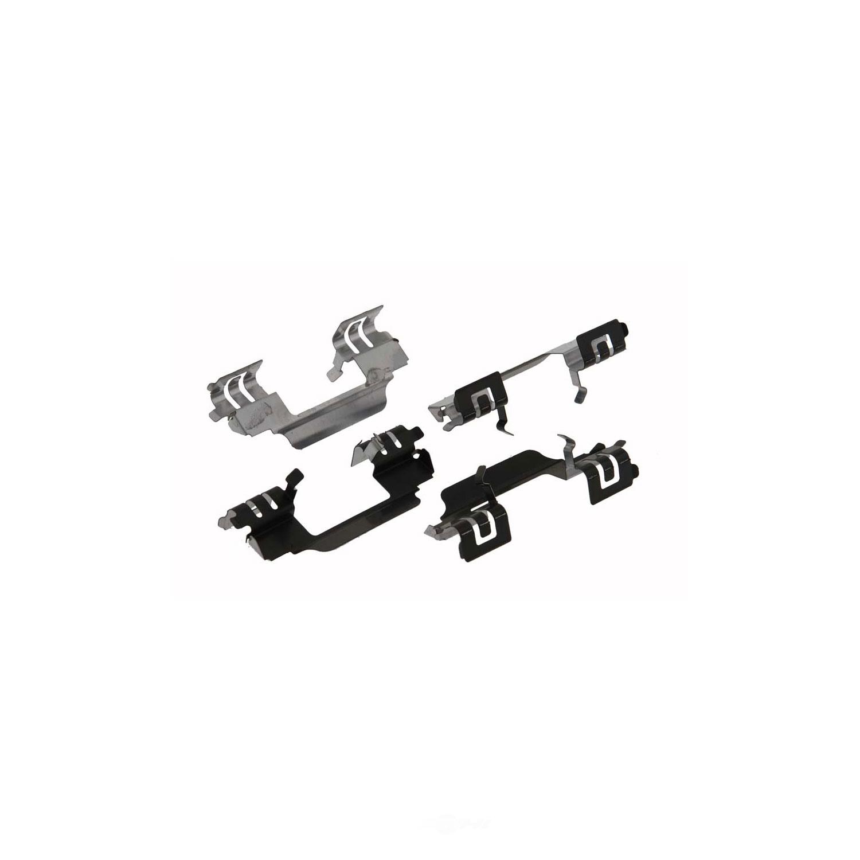CARLSON QUALITY BRAKE PARTS - Disc Brake Pad Installation Kit (Rear) - CRL P1020