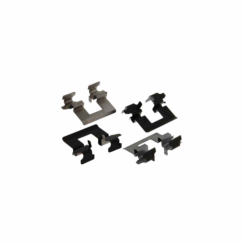 CARLSON QUALITY BRAKE PARTS - Disc Brake Pad Installation Kit (Rear) - CRL P1093