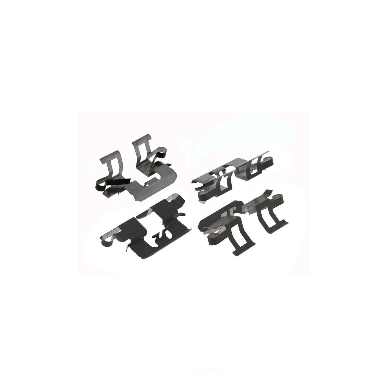 CARLSON QUALITY BRAKE PARTS - Disc Brake Pad Installation Kit (Rear) - CRL P1161A