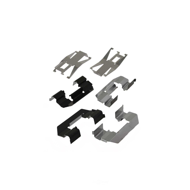 CARLSON QUALITY BRAKE PARTS - Disc Brake Pad Installation Kit (Front) - CRL P727