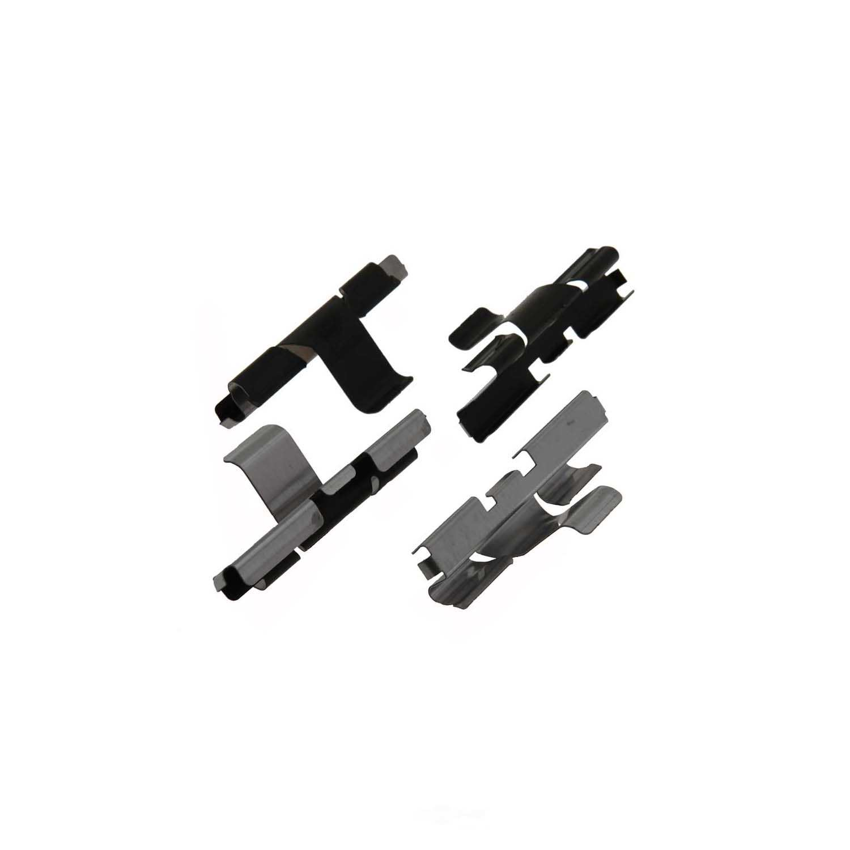 CARLSON QUALITY BRAKE PARTS - Disc Brake Pad Installation Kit (Rear) - CRL P898