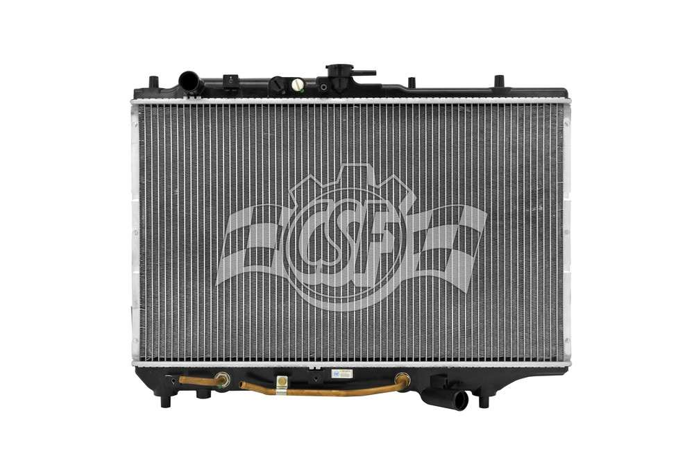 CSF RADIATOR - 1 Row Plastic Tank Aluminum Core Radiator - CSF 2452