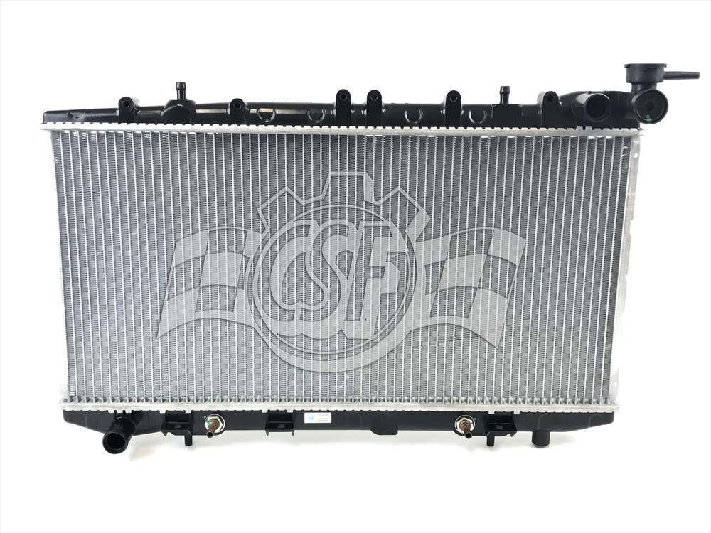 CSF RADIATOR - 1 Row Plastic Tank Aluminum Core Radiator - CSF 2457