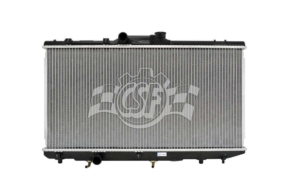 CSF RADIATOR - 1 Row Plastic Tank Aluminum Core Radiator - CSF 2468