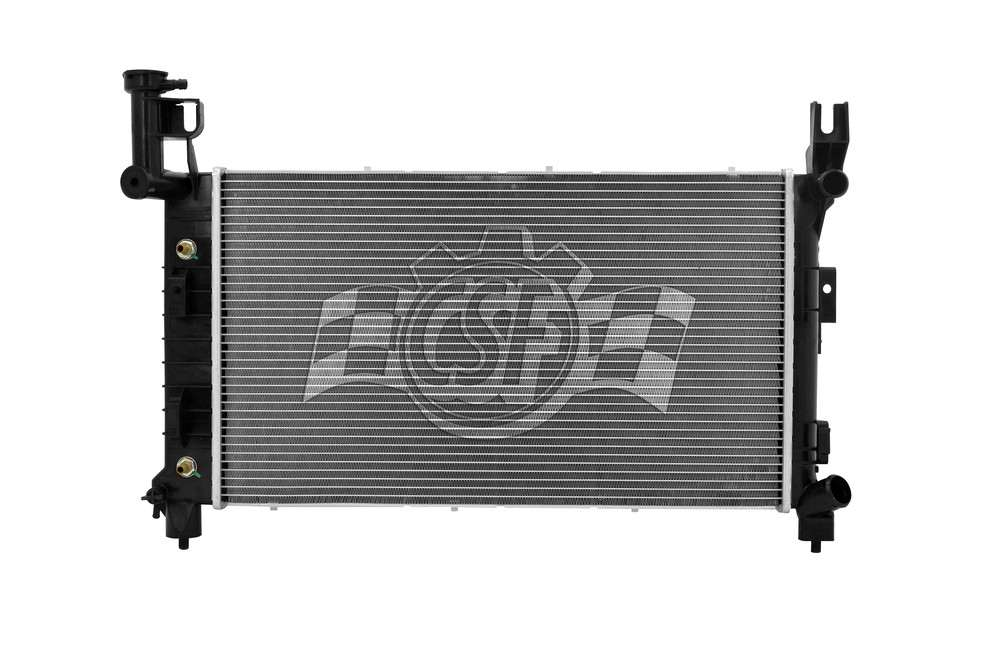 CSF RADIATOR - 1 Row Plastic Tank Aluminum Core Radiator - CSF 2505