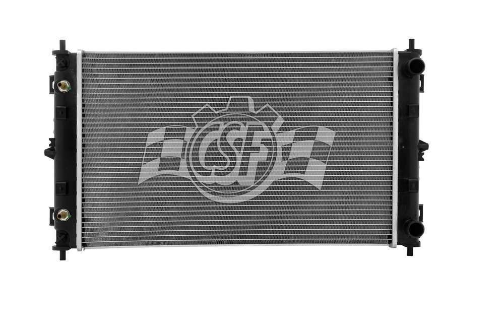 CSF RADIATOR - 1 Row Plastic Tank Aluminum Core Radiator - CSF 2511