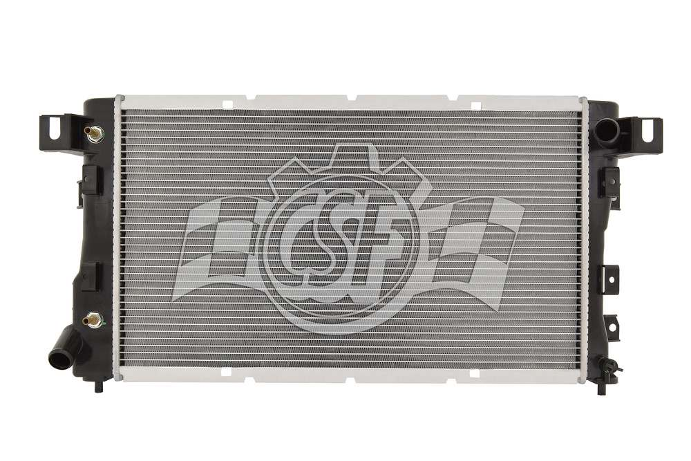 CSF RADIATOR - 1 Row Plastic Tank Aluminum Core Radiator - CSF 2512