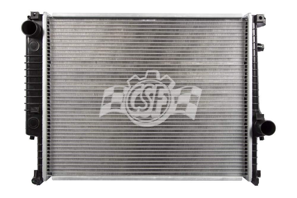 CSF RADIATOR - 1 Row Plastic Tank Aluminum Core Radiator - CSF 2526