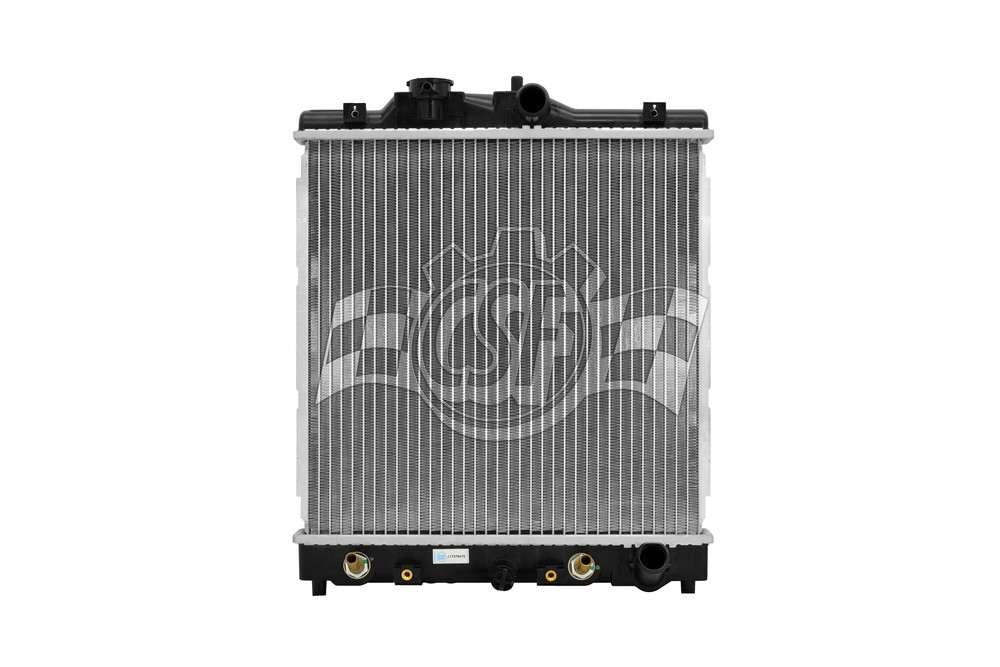 CSF RADIATOR - 1 Row Plastic Tank Aluminum Core Radiator - CSF 2601