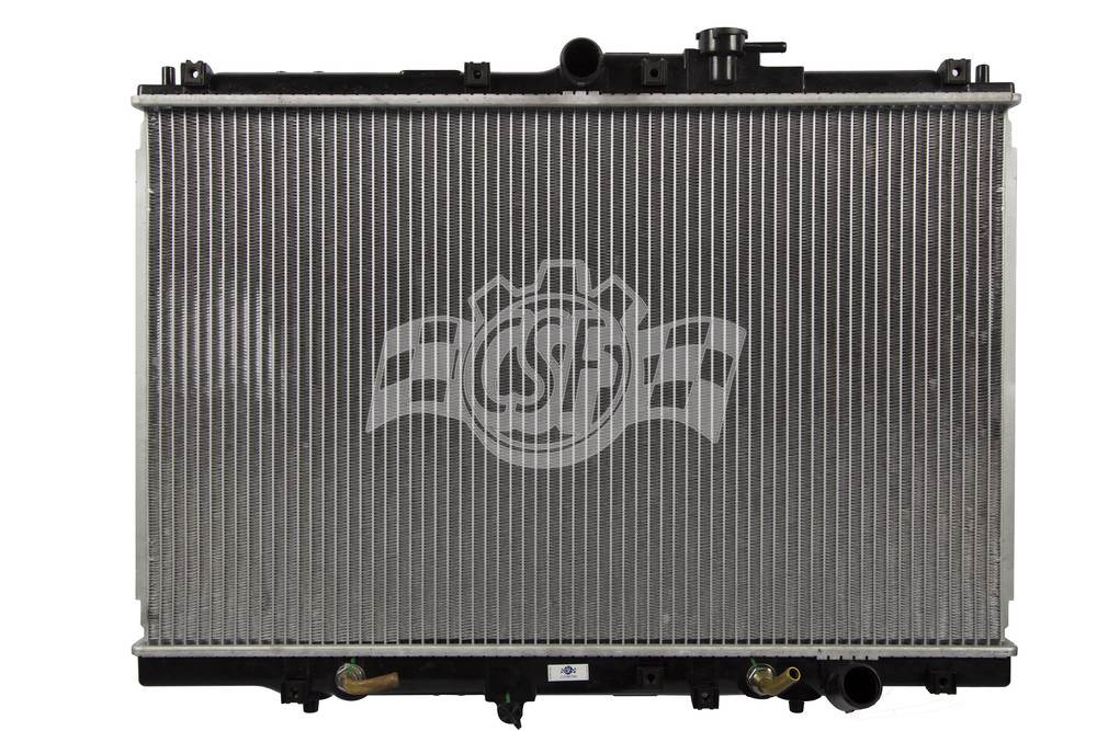 CSF RADIATOR - 1 Row Plastic Tank Aluminum Core Radiator - CSF 2603