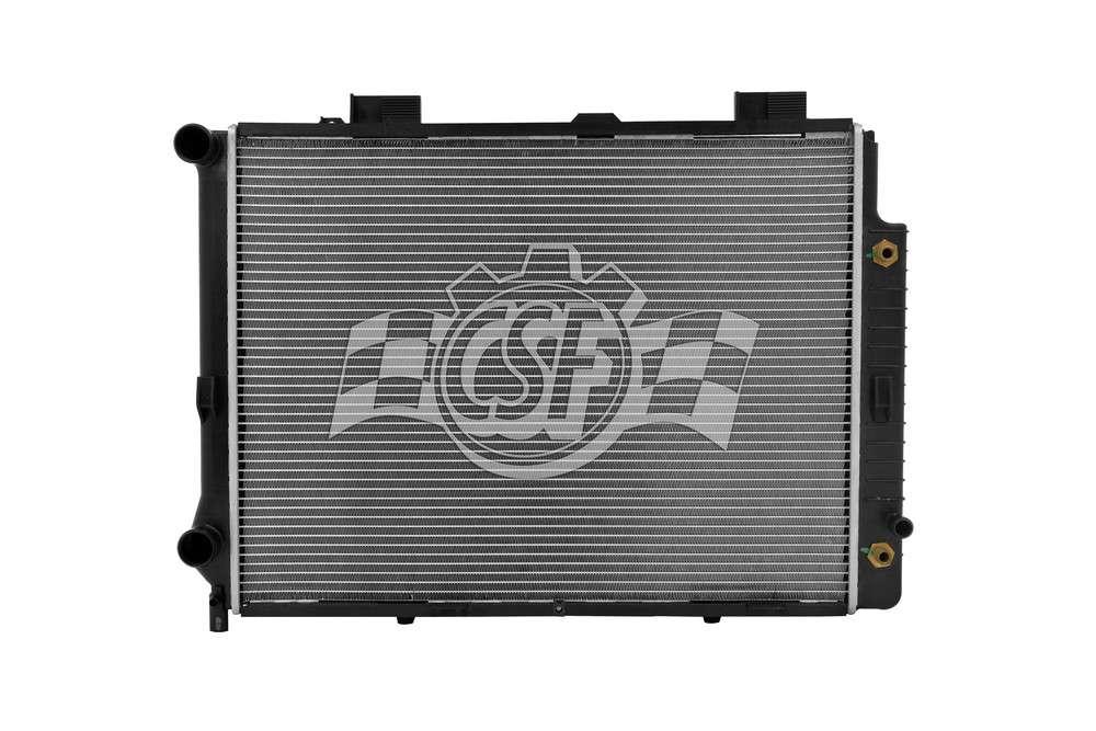 CSF RADIATOR - 2 Row Plastic Tank Aluminum Core Radiator - CSF 2611