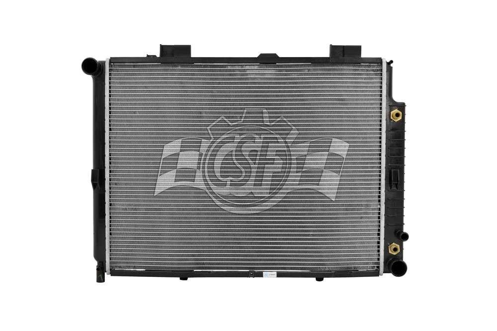 CSF RADIATOR - 2 Row Plastic Tank Aluminum Core Radiator - CSF 2612