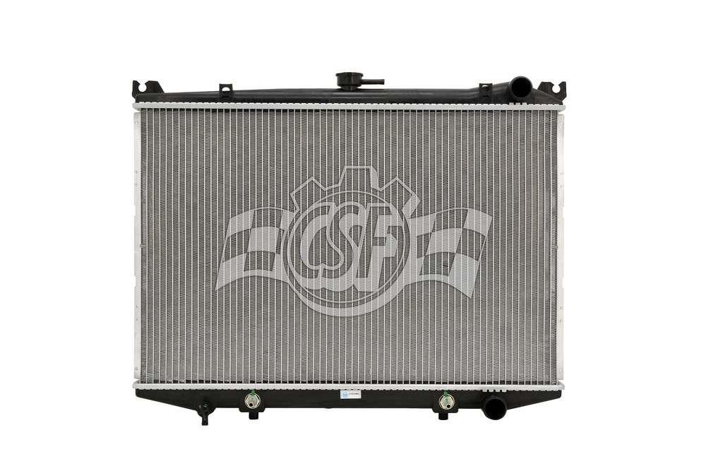 CSF RADIATOR - 1 Row Plastic Tank Aluminum Core Radiator - CSF 2813