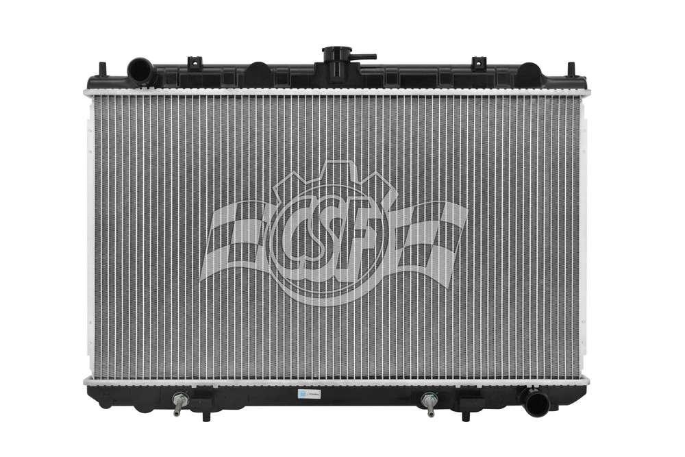 CSF RADIATOR - 1 Row Plastic Tank Aluminum Core Radiator - CSF 2929