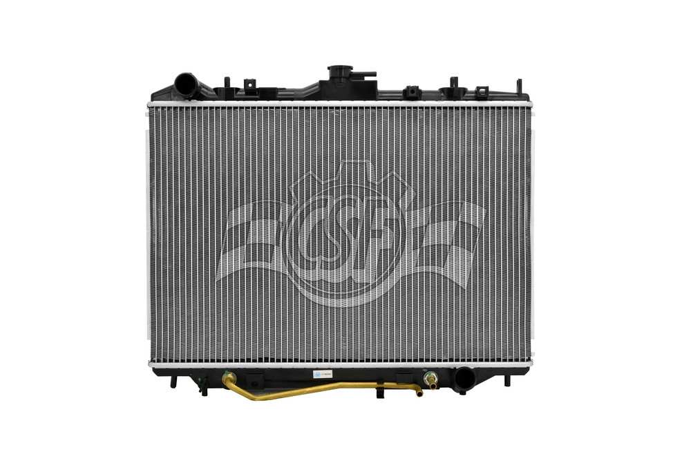 CSF RADIATOR - 1 Row Plastic Tank Aluminum Core Radiator - CSF 2932