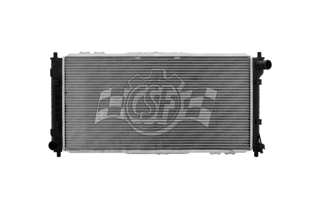 CSF RADIATOR - 1 Row Plastic Tank Aluminum Core Radiator - CSF 2941