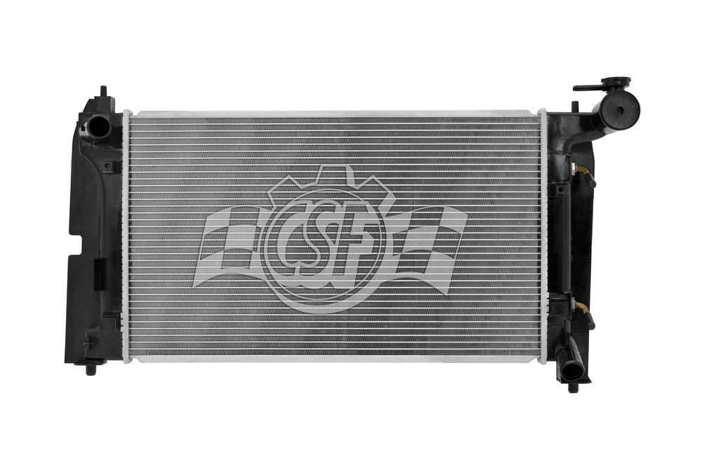 CSF RADIATOR - 1 Row Plastic Tank Aluminum Core Radiator - CSF 2948