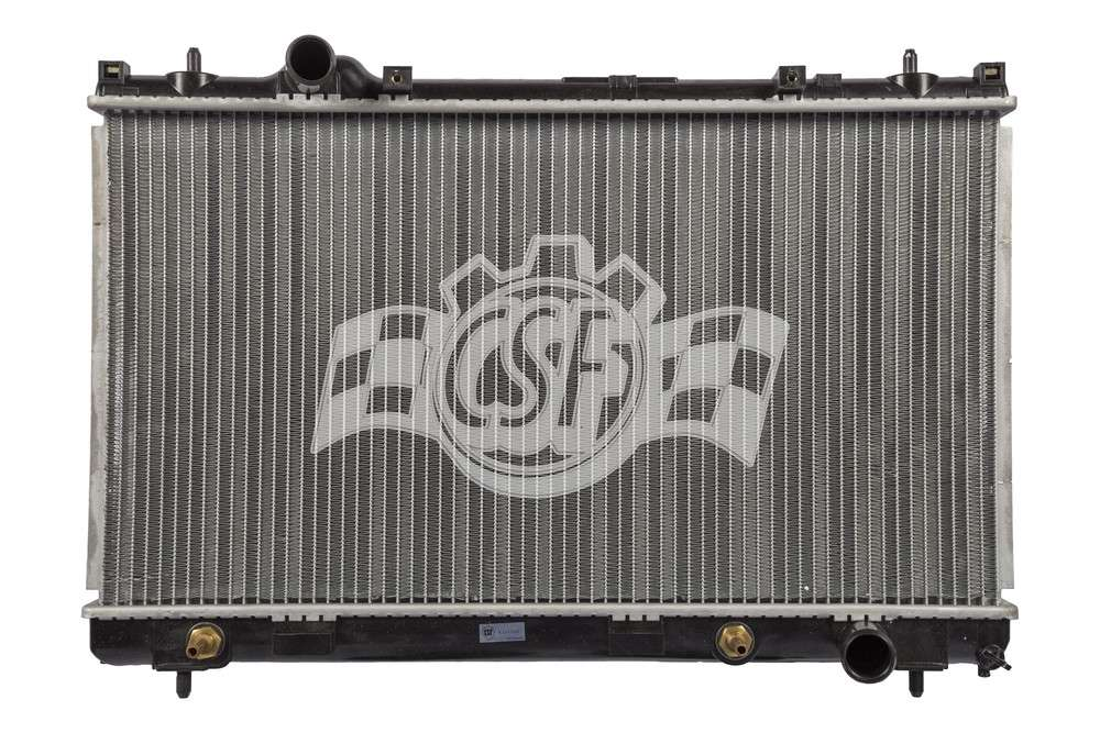 CSF RADIATOR - 1 Row Plastic Tank Aluminum Core Radiator - CSF 2966