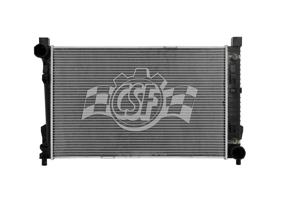 CSF RADIATOR - 1 Row Plastic Tank Aluminum Core Radiator - CSF 2990