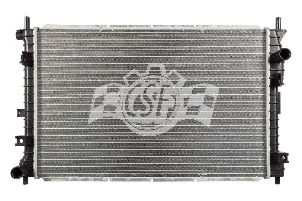 CSF RADIATOR - 1 Row Plastic Tank Aluminum Core Radiator - CSF 3000