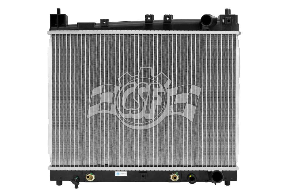 CSF RADIATOR - 1 Row Plastic Tank Aluminum Core Radiator - CSF 3001