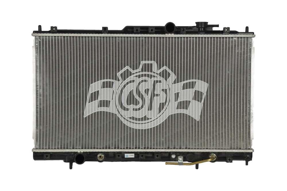 CSF RADIATOR - 1 Row Plastic Tank Aluminum Core Radiator - CSF 3101