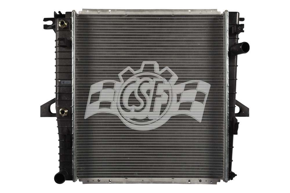 CSF RADIATOR - 1 Row Plastic Tank Aluminum Core Radiator - CSF 3113