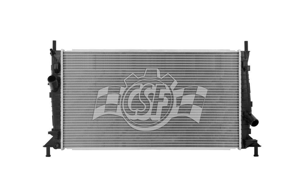 CSF RADIATOR - 1 Row Plastic Tank Aluminum Core Radiator - CSF 3122