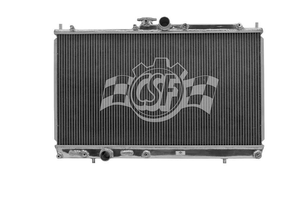 CSF RADIATOR - 2 Row All Aluminum Racing - CSF 3163