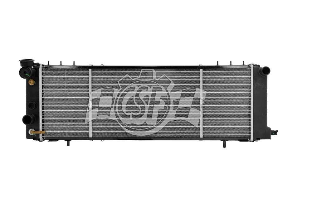 CSF RADIATOR - 1 Row Plastic Tank Aluminum Core Radiator - CSF 3251